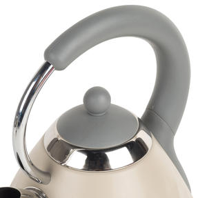Salter EK2617 1.8 L Naturals Pyramid Kettle with 3kW Rapid Boil, Stone Thumbnail 5