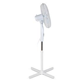 Beldray COMBO-4335 16 Inch Pedestal Fan with Adjustable Head, 50 W, Set of 2 Thumbnail 3
