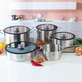 Peugeot COMBO-4731 Stainless Steel Kitchen Cookware, 5 Piece Set Thumbnail 2