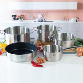 Peugeot COMBO-4731 Stainless Steel Kitchen Cookware, 5 Piece Set Thumbnail 3