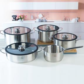 Peugeot COMBO-4731 Stainless Steel Kitchen Cookware, 5 Piece Set Thumbnail 4