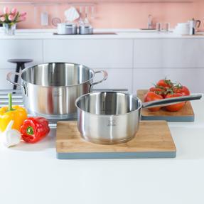Peugeot COMBO-4737 Stainless Steel Sauté Pan and Cooking Pot Set, 2 Piece, 16/20 cm Thumbnail 3
