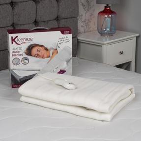 Kleeneze KL1284STK Machine Washable Electric Heated Under Blanket, 35 W, Single Thumbnail 2