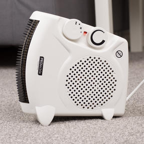 Prolectrix EH0569SPROSTK Portable Flat Fan Heater and Cooler, 2000 W, White Thumbnail 12