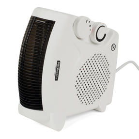 Prolectrix EH0569SPROSTK Portable Flat Fan Heater and Cooler, 2000 W, White Thumbnail 3