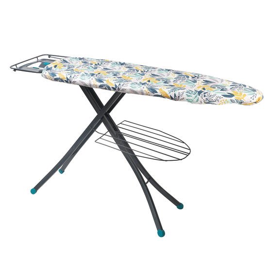 Beldray Large Reversible Ironing Board Replacement Cover, 137 x 45 cm, Ingrid Leaf Print