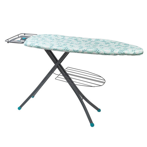 Beldray Large Reversible Ironing Board Replacement Cover, 137 x 45 cm, Ingrid Leaf Print Thumbnail 2