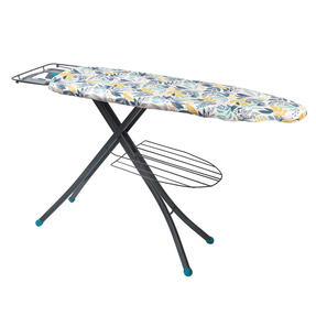 Beldray LABEL58850INGEU Large Reversible Ironing Board Replacement Cover, 137 x 45 cm, Ingrid Leaf Print