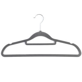 Beldray LA063717GRYEU 10 Pack Premium Velvet Clothes Hangers, Grey Thumbnail 12