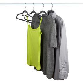 Beldray LA063717GRYEU 10 Pack Premium Velvet Clothes Hangers, Grey Thumbnail 5