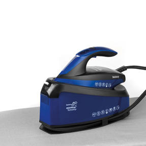 Beldray BEL0905 Steam Station Optimal Temperature Iron with Ceramic Soleplate, 1.5 L, 3000 W, Blue/Black Thumbnail 3