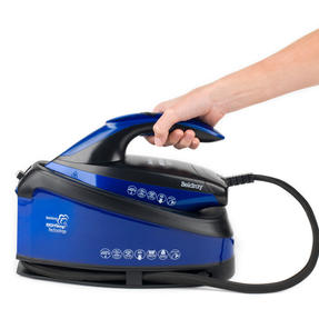 Beldray BEL0905 Steam Station Optimal Temperature Iron with Ceramic Soleplate, 1.5 L, 3000 W, Blue/Black Thumbnail 7