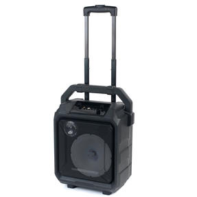 Intempo EE4551STKEU Tempo Tailgate Speaker with LED Lights, Karaoke Function with Microphone Port and 20 W Speaker Output, Black Thumbnail 3