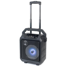 Intempo EE4551STKEU Tempo Tailgate Speaker with LED Lights, Karaoke Function with Microphone Port and 20 W Speaker Output, Black Thumbnail 4