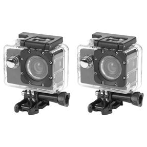 Intempo COMBO-4983 Waterproof Wide Angle IPX8 Action Camera, Set of 2