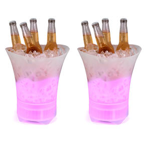 Intempo COMBO-4988 Bluetooth Ice Bucket Speaker With Colour Changing Lights, 10 W, Set of 2