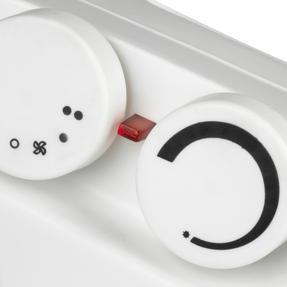 Beldray COMBO-5009 Flat Fan Portable Heater, 1000-2000W, Set of 2 Thumbnail 5