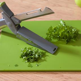 Salter COMBO-5019 3-in-1 Prep Multipurpose Kitchen Scissors, Stainless Steel, Green, Set of 2 Thumbnail 5