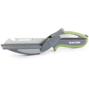 Salter COMBO-5019 3-in-1 Prep Multipurpose Kitchen Scissors, Stainless Steel, Green, Set of 2 Thumbnail 7