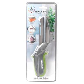 Salter COMBO-5019 3-in-1 Prep Multipurpose Kitchen Scissors, Stainless Steel, Green, Set of 2 Thumbnail 9