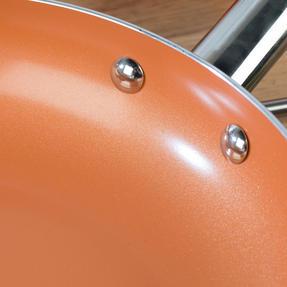 Salter COMBO-4757 20cm and 28cm Copper Frying Pan Set Thumbnail 6