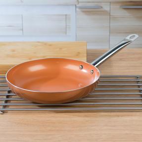 Salter COMBO-4757 20cm and 28cm Copper Frying Pan Set Thumbnail 8