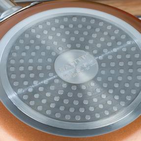 Salter COMBO-4757 20cm and 28cm Copper Frying Pan Set Thumbnail 9