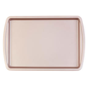 Salter COMBO-4368 Metallic Oven Baking Tray, 38 cm, Champagne, Set of 2 Thumbnail 2