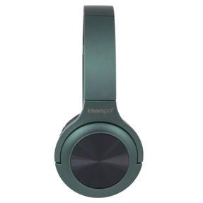 Intempo EE4661GRNSTKEU Urban WDS180 Wireless Bluetooth Foldable Headphones, Green Thumbnail 2