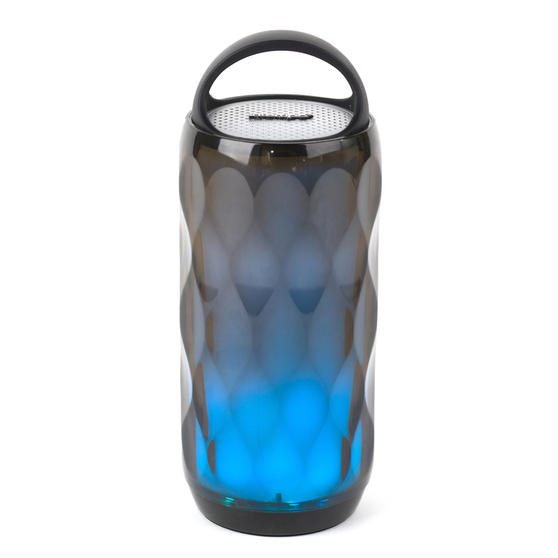 Intempo EE4724BLKSTKEU Galaxy WDS82 LED Colour-Changing Crystal Wireless Bluetooth Speaker