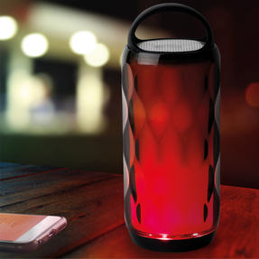 Intempo EE4724BLKSTKEU Galaxy WDS82 LED Colour-Changing Crystal Wireless Bluetooth Speaker Thumbnail 3