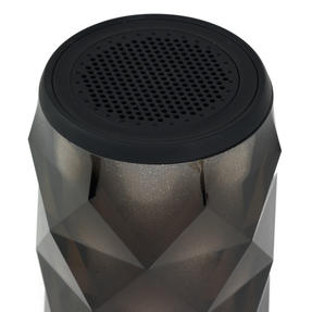 Pulsar EE3433BLKACTCO Crystal Can Bluetooth Speaker for iPhone, Android and Other Smart USB Devices, Black Thumbnail 3