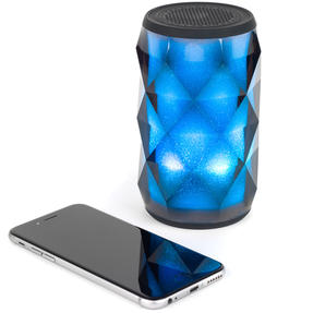 Pulsar EE3433BLKACTCO Crystal Can Bluetooth Speaker for iPhone, Android and Other Smart USB Devices, Black Thumbnail 5