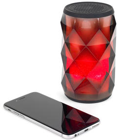 Pulsar EE3433BLKACTCO Crystal Can Bluetooth Speaker for iPhone, Android and Other Smart USB Devices, Black Thumbnail 8