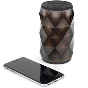 Pulsar EE3433BLKACTCO Crystal Can Bluetooth Speaker for iPhone, Android and Other Smart USB Devices, Black Thumbnail 9