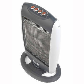 Prolectrix EH0197SPRON Halogen Heater, 1200 W, Grey Thumbnail 3