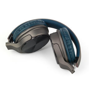 Intempo EE4805BLUSTKEU Opulence WDS25 Wireless Bluetooth Headphones, Gold/Navy Thumbnail 3