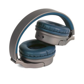 Intempo EE4805BLUSTKEU Opulence WDS25 Wireless Bluetooth Headphones, Gold/Navy Thumbnail 4