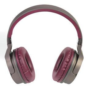 Intempo EE4805BRYSTKEU Opulence WDS25 Wireless Bluetooth Headphones, Gold/Berry Thumbnail 2
