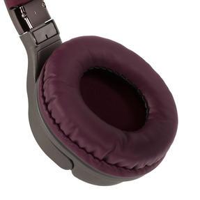 Intempo EE4805BRYSTKEU Opulence WDS25 Wireless Bluetooth Headphones, Gold/Berry Thumbnail 6