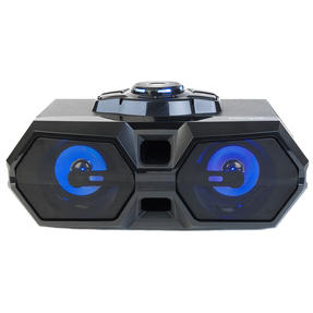 Intempo Rechargeable Bluetooth LED Party Speaker for iPhone, Android and Other Smart USB Devices