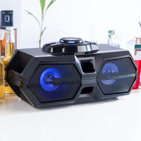 Intempo EE4469STKEU Rechargeable Bluetooth LED Party Speaker for iPhone, Android and Other Smart USB Devices Thumbnail 9