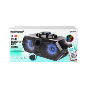 Intempo EE4469STKEU Rechargeable Bluetooth LED Party Speaker for iPhone, Android and Other Smart USB Devices Thumbnail 11