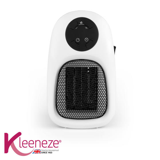 Kleeneze KL3001FSDUSTK Handy Plug In Heater, 500 W