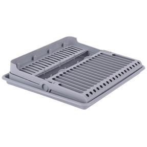 Beldray COMBO-5045 Plastic Dish Drainer with Cutlery Rack, Grey, Set of 5 Thumbnail 6