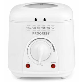 Progress COMBO-5048 Compact Deep Fat Fryer With Removable Cooking Basket, 1 L, 950 W, Set of 2 Thumbnail 4