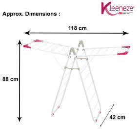 Kleeneze KL064257EU Foldable 10 Metre Clothes Airer Thumbnail 6