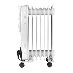Prolectrix EH0564SPROSTK Portable 7 Fin Oil-Filled Radiator, 1500 W, White Thumbnail 1