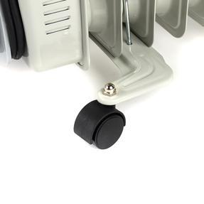 Prolectrix EH0564SPROSTK Portable 7 Fin Oil-Filled Radiator, 1500 W, White Thumbnail 2