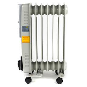 Prolectrix EH0564SPROSTK Portable 7 Fin Oil-Filled Radiator, 1500 W, White Thumbnail 7